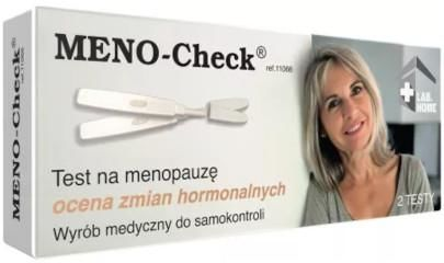 LabHome Meno Check test strumieniowy do oceny zmian hormonalnych 2 sztuki