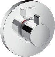 Select Hansgrohe bateria termostat showerselect s podtynkowa highflow element zewnętrzny chrom - 15741000 Darmowa dostawa