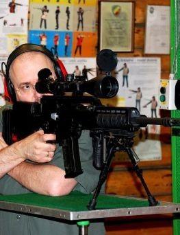 Strzelanie z broni maszynowej  Warszawa