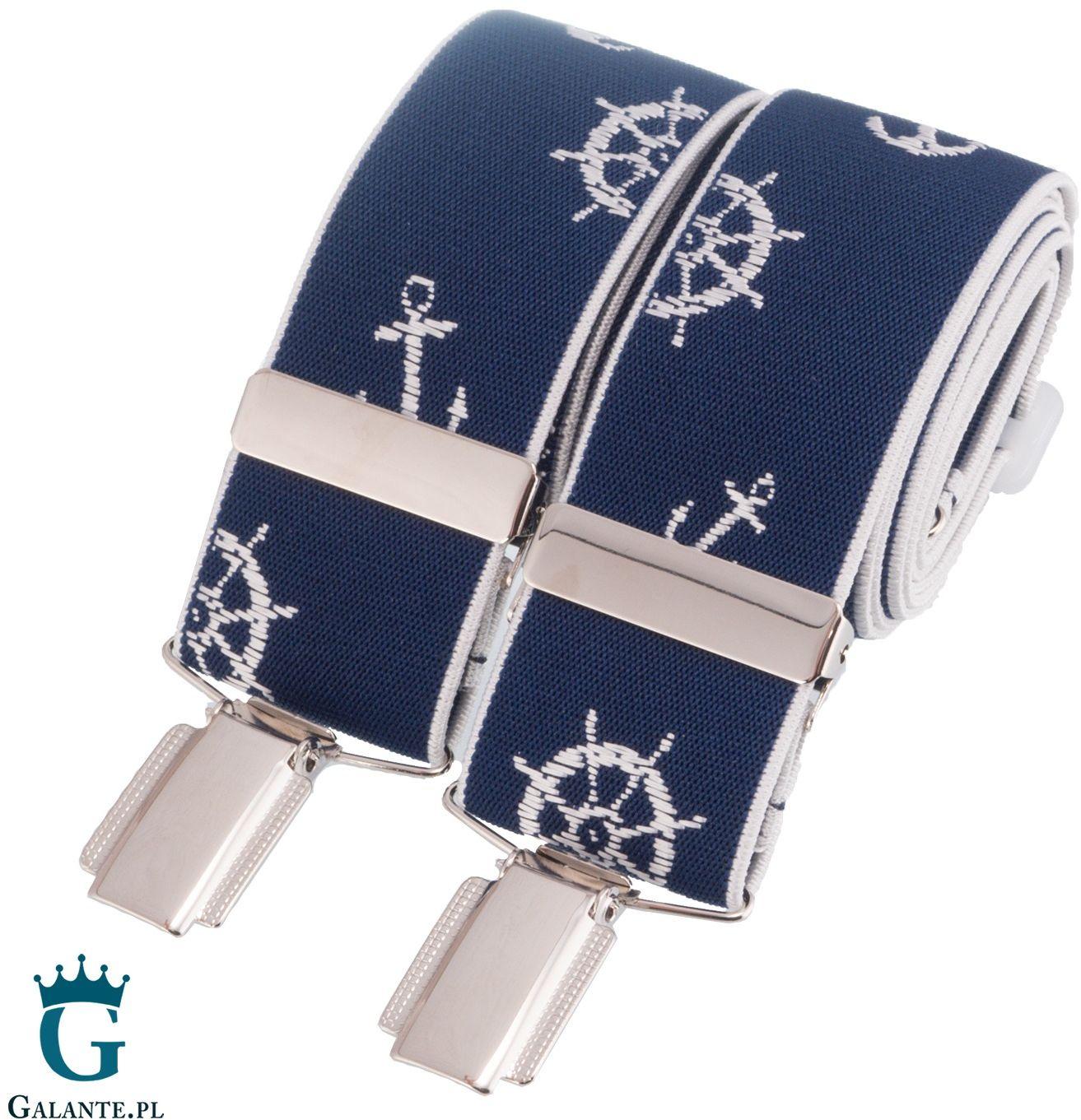 Szelki do spodni marynarskie br-045