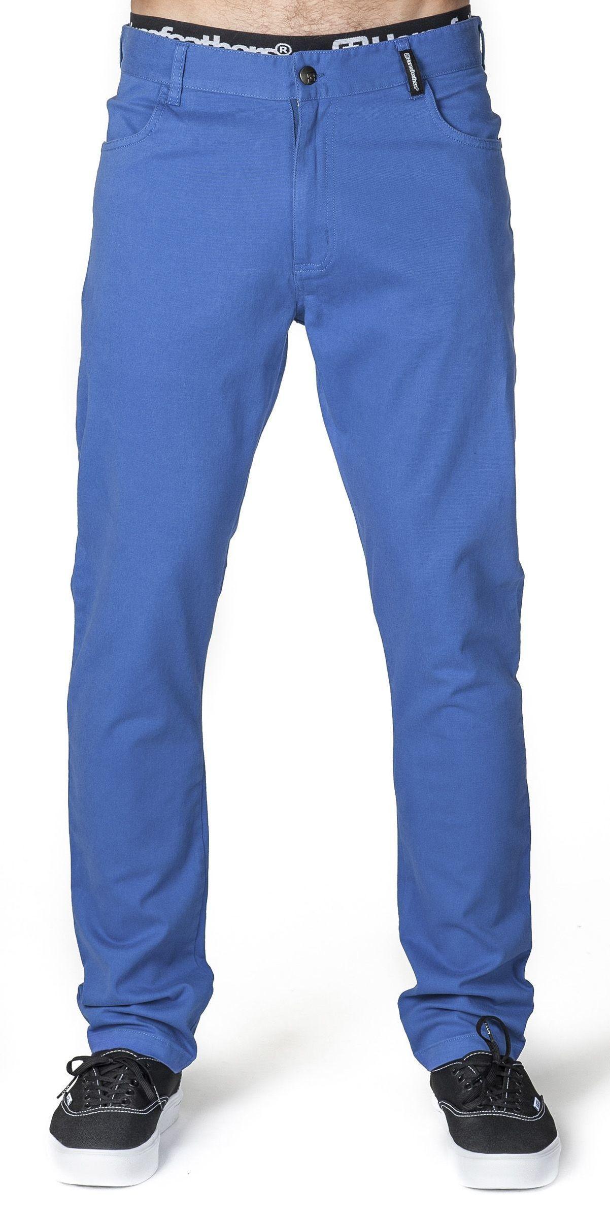 spodnie męskie HORSEFEATHERS NOEL PANTS (blue)