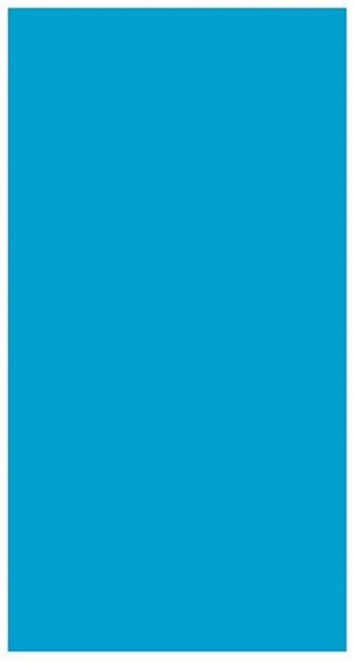 García de Pou 153,78 - serwetki z oznakowaniem ekologicznym F. 1/6 ''Double Point'' 18 GSM 33 x 40 cm turkusowy niebieski chusteczki - 50 jednostek