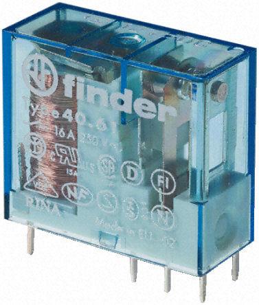 Przekaźnik 1CO 16A 12V AC/DC bistabilny 40-61-6-012-0000
