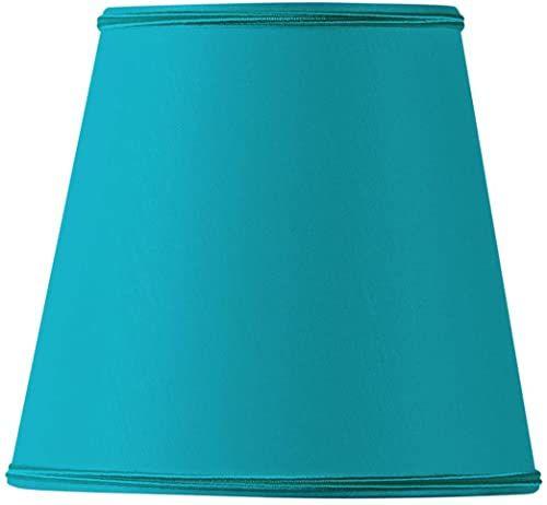 Klosz lampy do płomieni, 12 x 10 x 12 cm, turkusowy