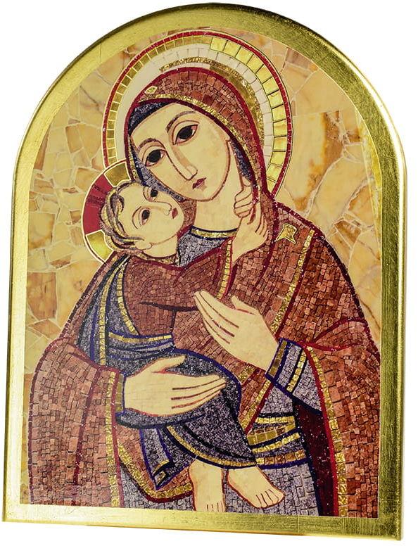 Ikona włoska Maryi z Jezusem
