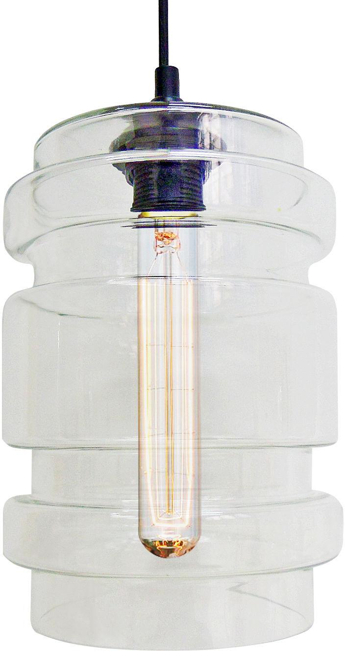 Candellux DECORADO 31-36674 lampa wisząca szklany klosz transparentny 1X60W E27 17 cm