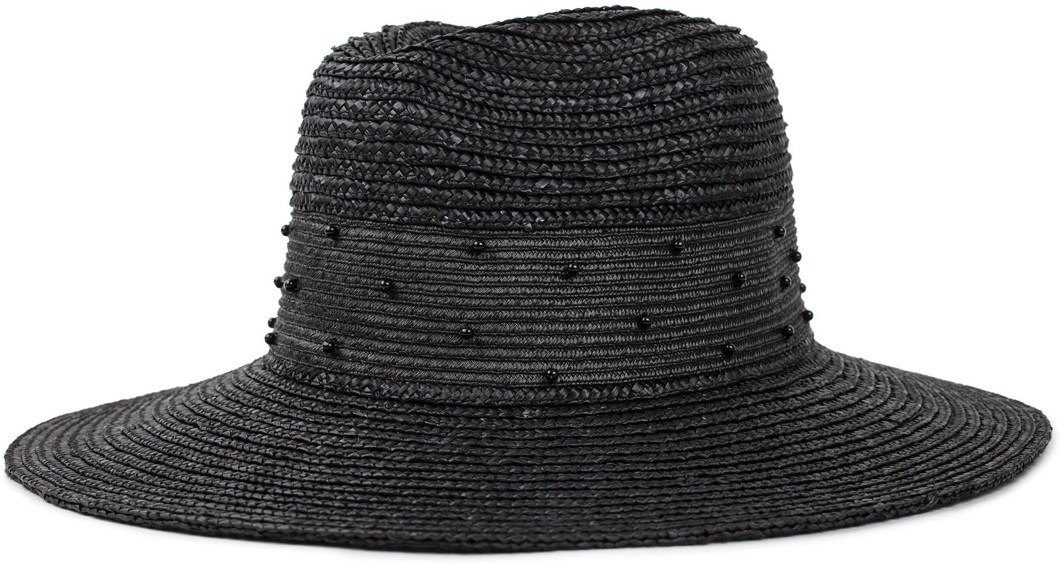 kapelusz damski BRIXTON MACY FEDORA Black/Black
