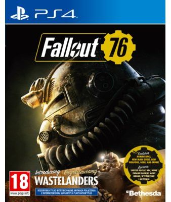 Gra PS4 Fallout 76: Wastelanders