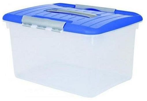 Pojemnik OPTIMA box 15L niebieska