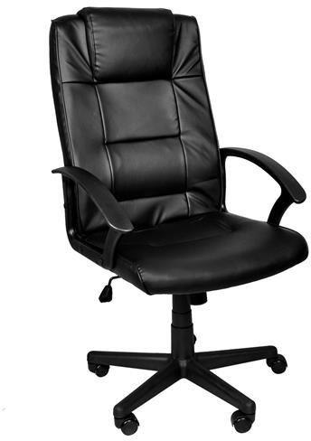 Fotel biurowy MALATEC ekoskóra /czarny/