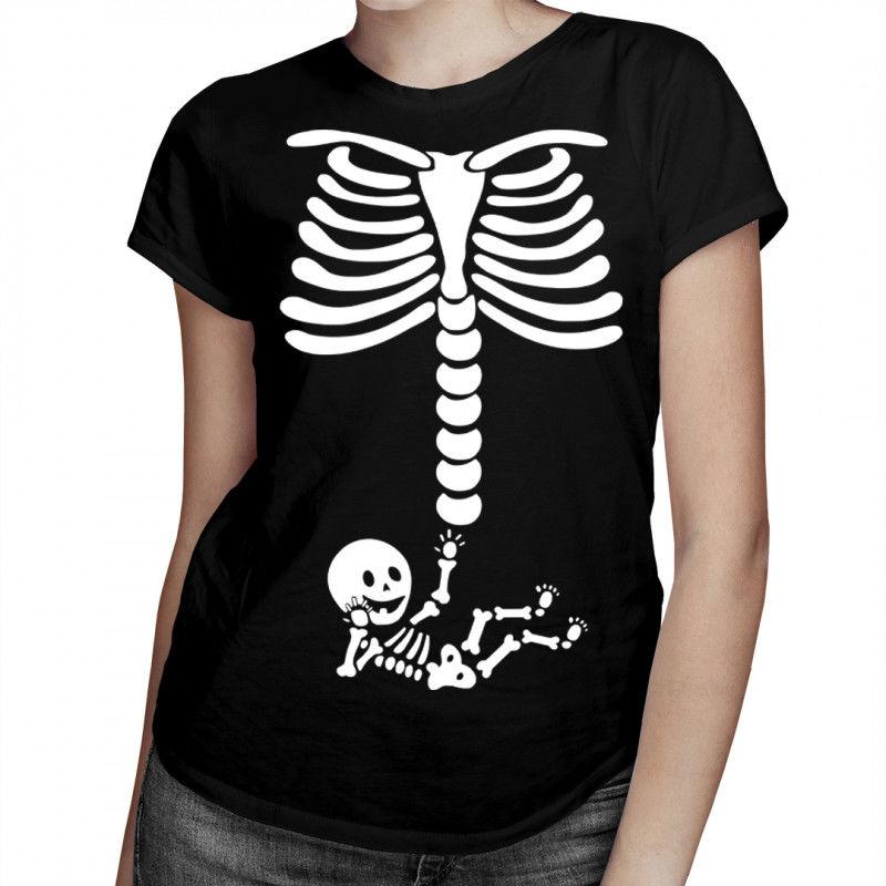 Kościomama - damska koszulka z nadrukiem