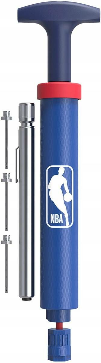 Pompka do piłki z manometrem NBA DRV PUMP KIT niebieska - WTBA4003NBA