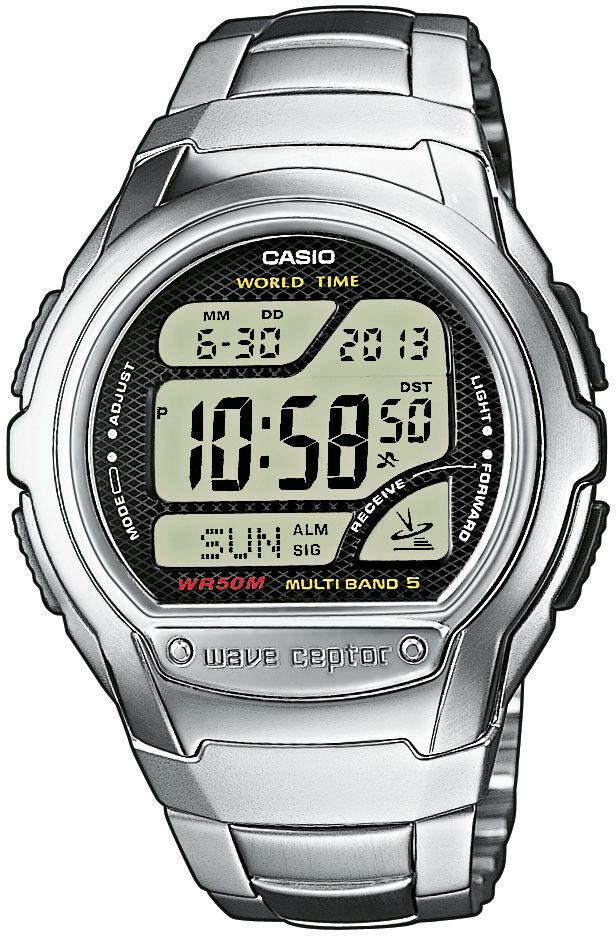 Zegarek Casio WV-58DE-1AVEF Waveceptor - CENA DO NEGOCJACJI - DOSTAWA DHL GRATIS, KUPUJ BEZ RYZYKA - 100 dni na zwrot, możliwość wygrawerowania dowolnego tekstu.