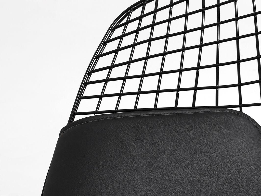Customform - DIAMENT, czarny biały srebrny