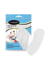Corbby Zapiętki żelowe Heel back gel 1 para