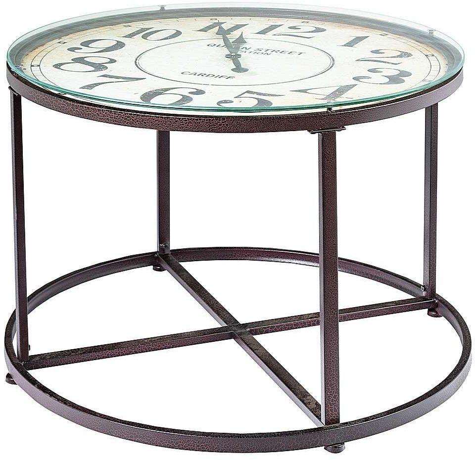 Stolik kawowy Clock 80x57cm