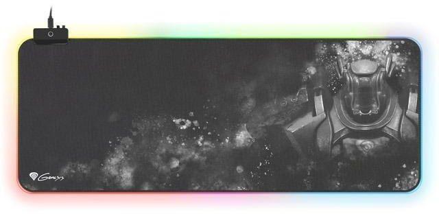 Podkładka pod mysz dla graczy Genesis Boron 500 XXL 800x300mm podświetlenie RGB