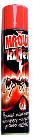 Spray-MRÓWKILEER na mrówki MRÓWKOZOL EXTRA 300ml