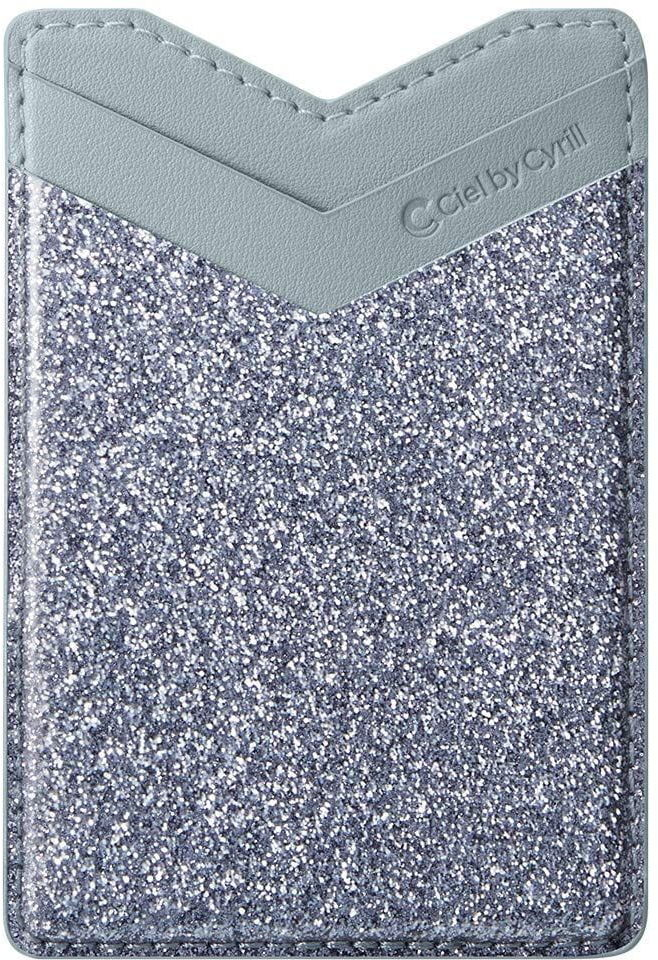 Nakładka Spigen Cyrill Shine Wallet Glitter Blue Grey