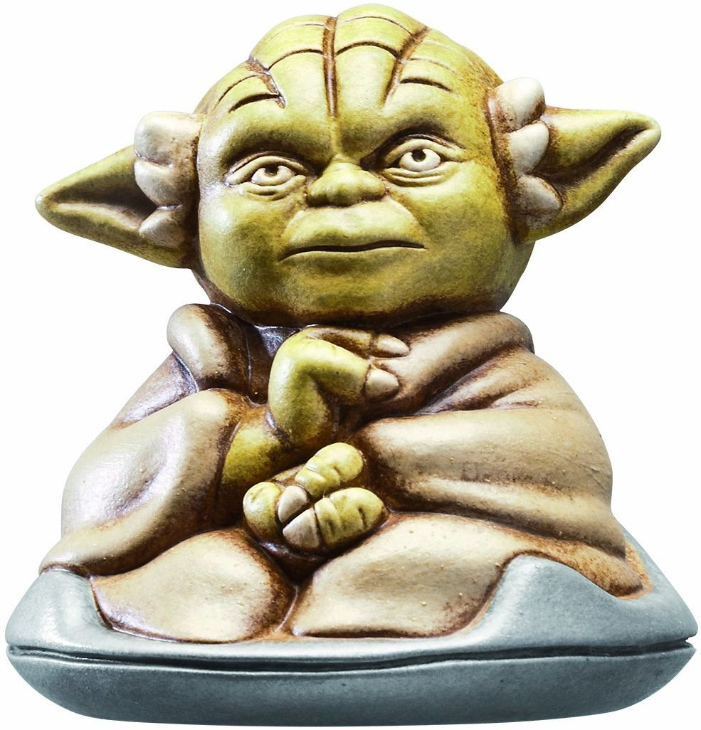 Joy Toy 651353 - Star Wars figurka kolekcjonerska Yoda, 13,5 x 13,5 x 9 cm