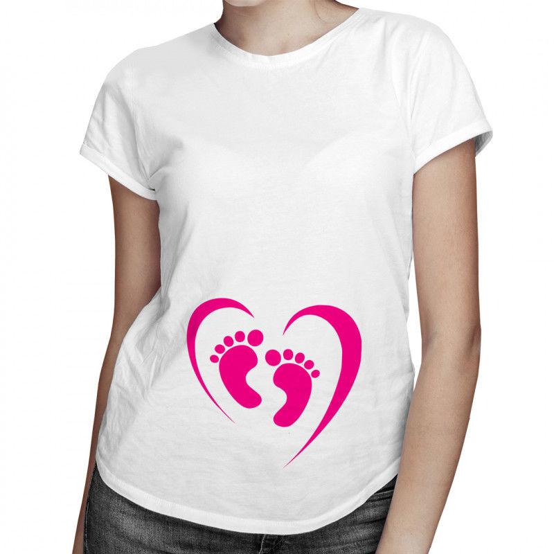 Stópki - damska koszulka z nadrukiem