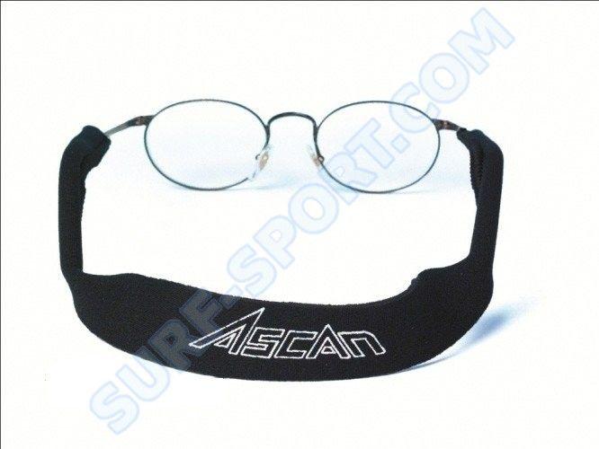 Gumka do okularów Ascan czarna