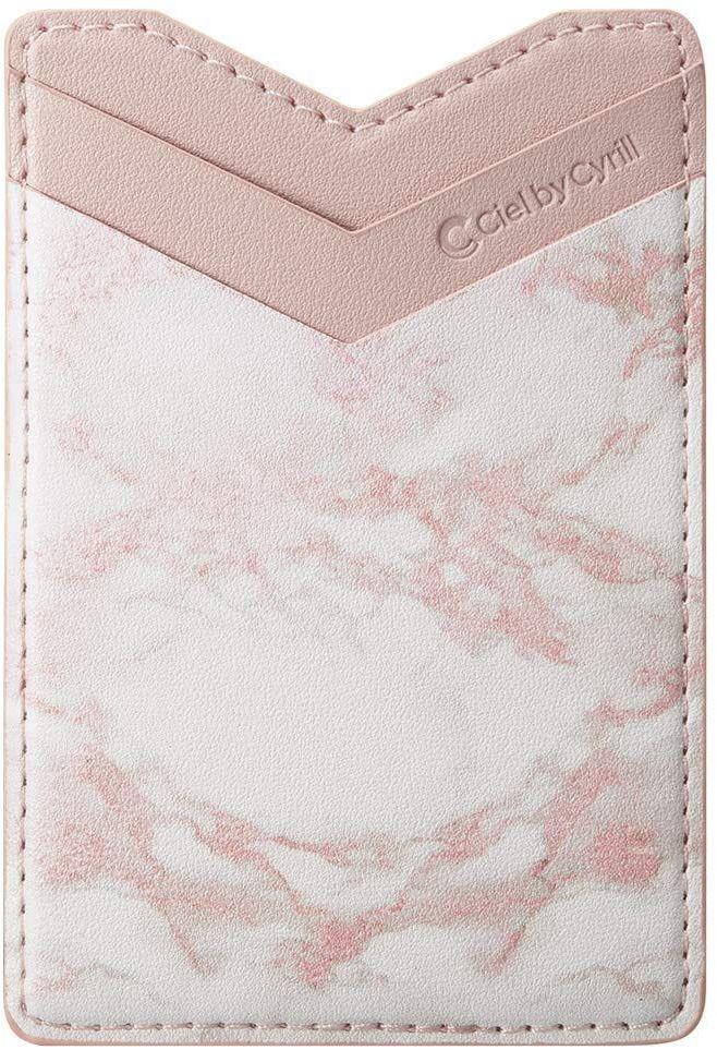 Nakładka Spigen Cyrill Shine Wallet Pink Marble