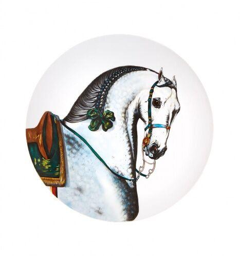 Porcelanowy talerz Iberian Lubuno, Caballus, Vista Alegre