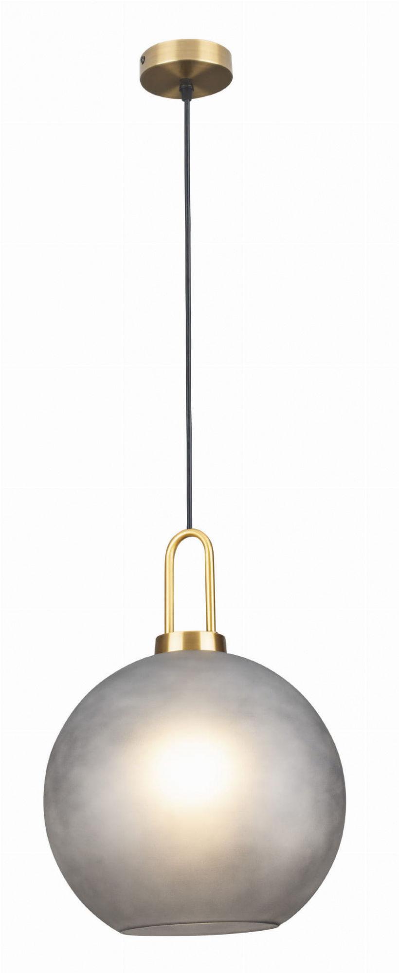 Lampa wisząca PLUTON P0415 MAXlight nowoczesna oprawa w kolorze złotym