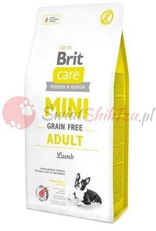 Brit Care Mini Grain Free Adult Jagnięcina 400g