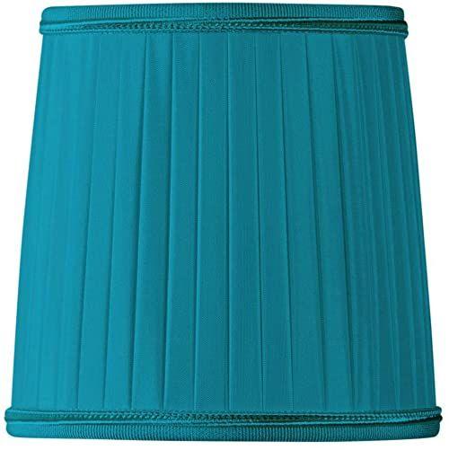 Klosz lampy do plis płomieni, średnica 12 x 10 x 12 cm, turkusowy