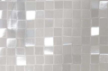 Statyczna folia okienna 3d 45x150cm kwadraty