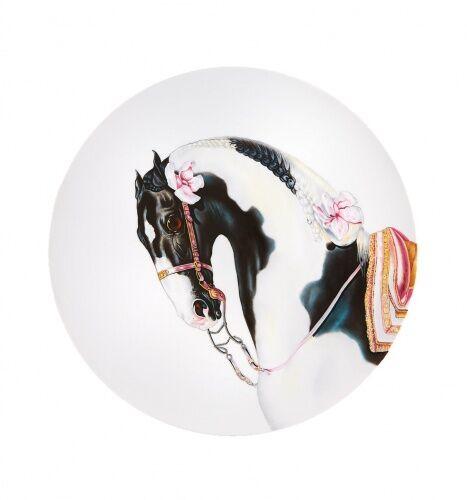Porcelanowy talerz Painted Stallion , Caballus, Vista Alegre