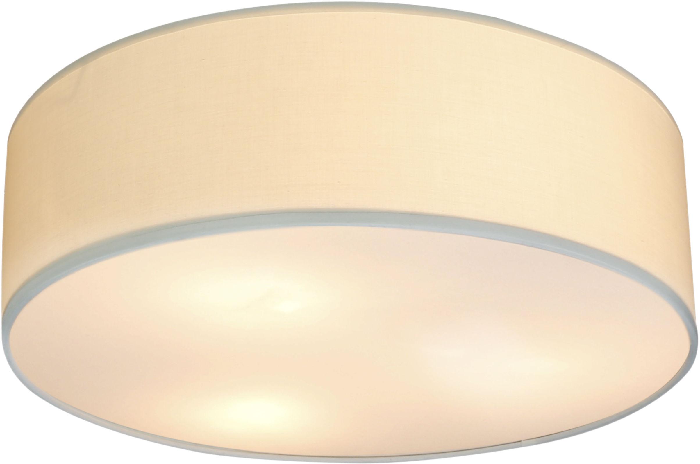 Candellux KIOTO 31-64691 plafon lampa sufitowa abażur kremowy 3x40W E27 40cm