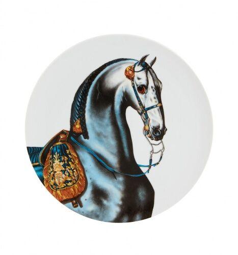 Porcelanowy talerz Iberian Stallion, Caballus, Vista Alegre