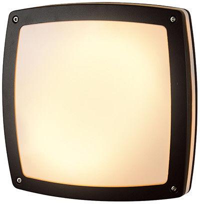 Fano Square LED plafon elewacyjny 1-punktowy grafitowy AZ2186
