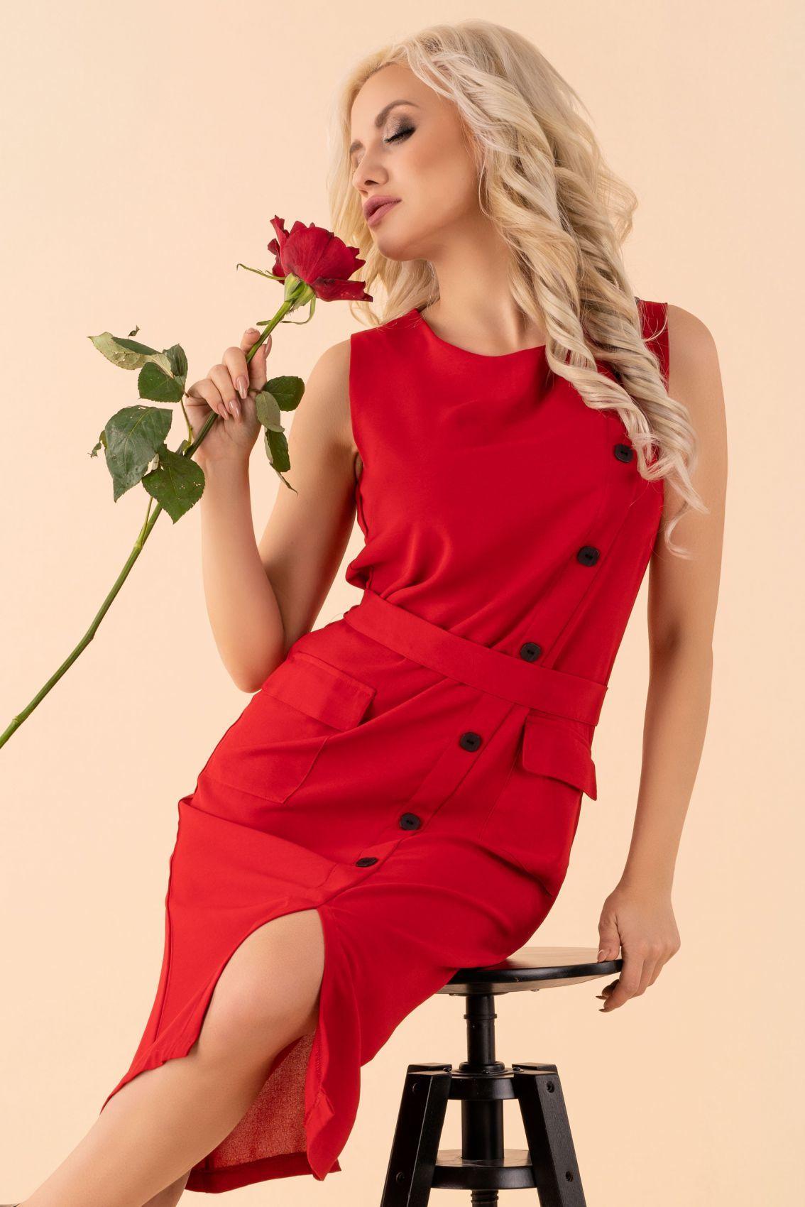 Eqalisa Wine Red D55 sukienka
