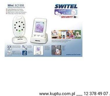 SWITEL BCF 808, niania elektroniczna z kamerą