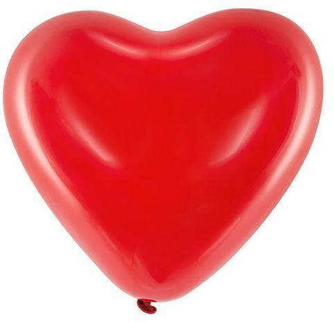 Balony Serca czerwone 12 cali 100 sztuk 092MD-100x