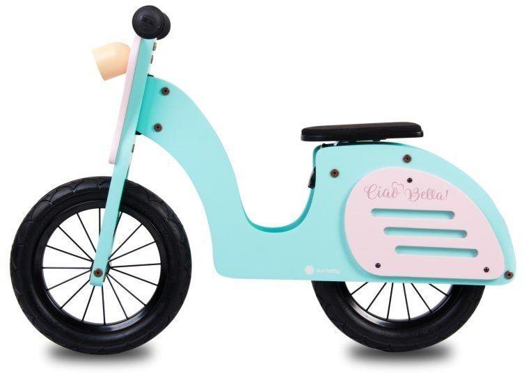 Rowerek biegowy drewniany skuter Ciao Bella