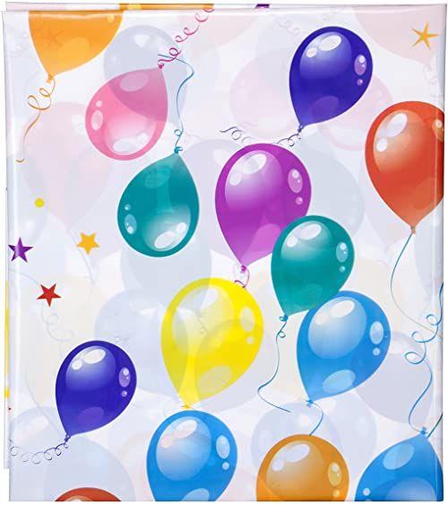 1 rok więcej obrusu urodzinowego, papieru/PE, wielokolorowy, 183 x 137 x 0,2 cm