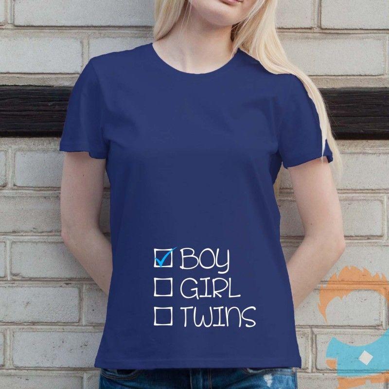 Boy - damska koszulka z nadrukiem