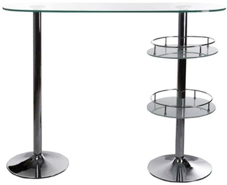 Kokoon design - stół barowy szklany