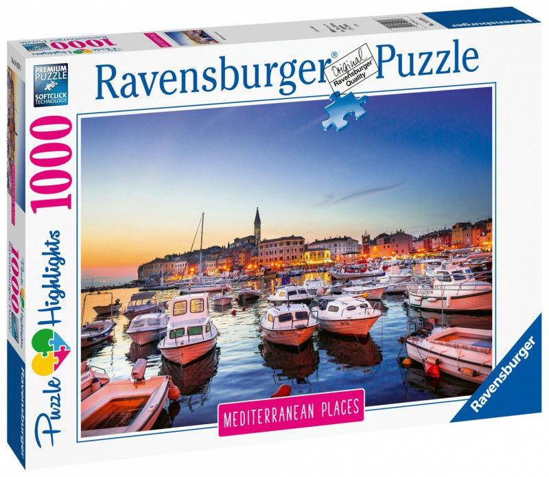 Puzzle Ravensburger 1000 - Chorwacja, Croatia