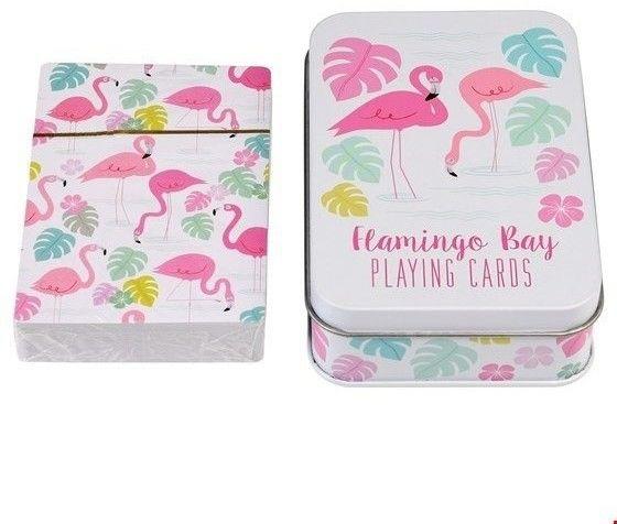Rex London - Karty do Gry w Puszce, Flamingo Bay, Rex London