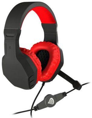 Słuchawki NATEC-GENESIS Argon 200 Czerwony