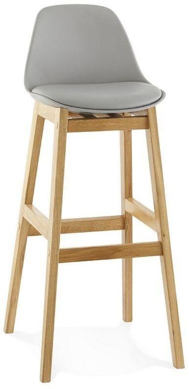 Kokoon design - krzesło wysokie elody - szare