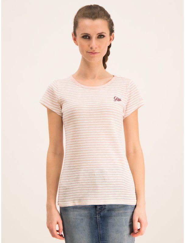 G-Star Raw T-Shirt D14712-9024-A676 Różowy Regular Fit