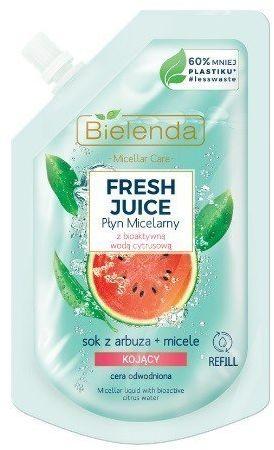 Bielenda Bielenda Fresh Juice Płyn micelarny kojący z wodą cytrusową Arbuz 45ml - doypack