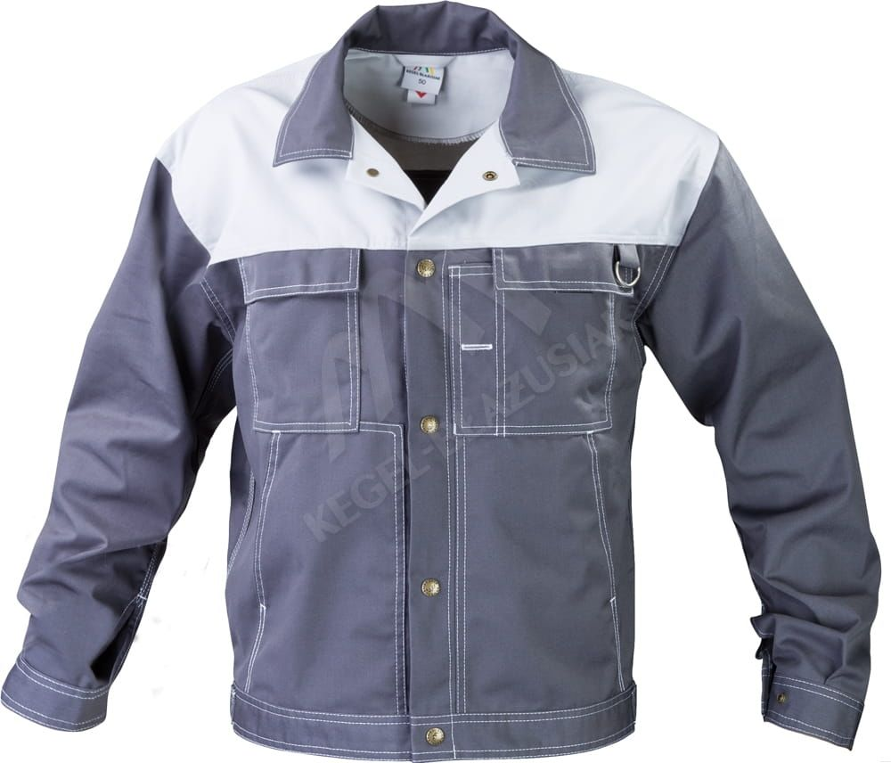 Bluza robocza Top, ciemny/jasny szary